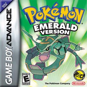 Pokemon Emerald for Nintendo Game Boy Ad...
