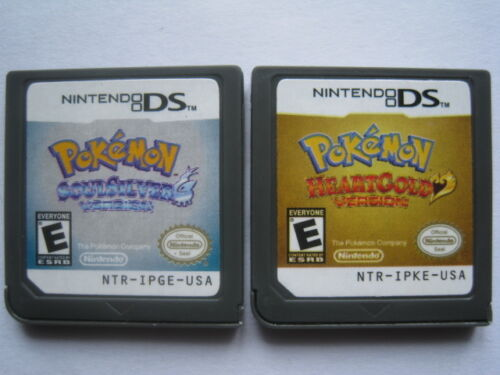 Pokemon HeartGold and Pokemon SoulSilver for nds Lite ndsi ndsll ndsxl 3DS in Video Games & Consoles, Wholesale Lots, Games | eBay