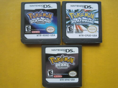 Pokemon Platinum and Pokemon Diamond and Pokemon Pearl for nds Lite ndsi 3DS in Video Games & Consoles, Wholesale Lots, Games | eBay