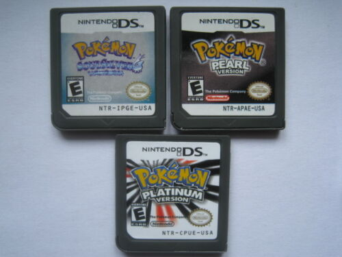 Pokemon Platinum and Pokemon SoulSilver and Pokemon Pearl for nds Lite ndsi 3DS in Video Games & Consoles, Wholesale Lots, Games | eBay