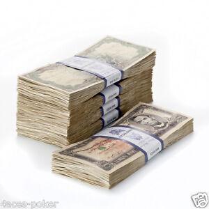 Druckbare Spielgeld Vorlage dollar