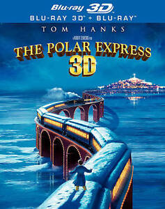 The Polar Express (Blu-ray Disc, 2010, 3...