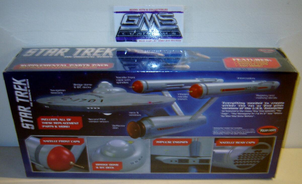 Polar Lights MKA004 Star Trek Enterprise NCC 1701 Supplemental Parts Pack 1 350