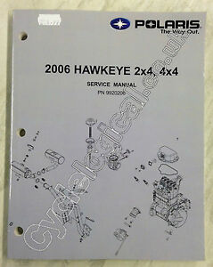 polaris atv 2006 hawkeye 2x4 4x4 service manual improved. Black Bedroom Furniture Sets. Home Design Ideas