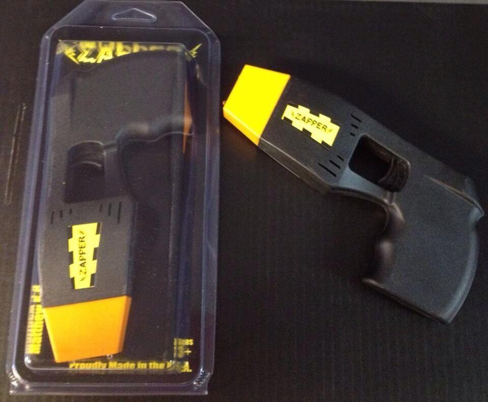 Police Toy Taser Zapper Black Stun Gun for Kids on PopScreen