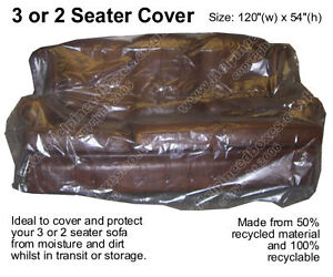 Polythene Mattress Covers Polythene Plastic Sofa Settee Cover Bag Dust Storage Moving Removal ...