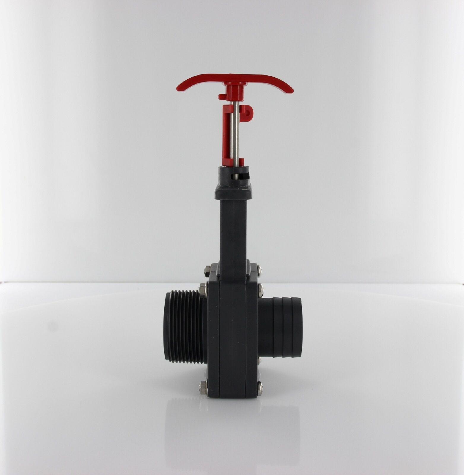 pool absperrschieber ventil schieber schlauchanschluss 38 mm x 1 1 2 ag ebay. Black Bedroom Furniture Sets. Home Design Ideas