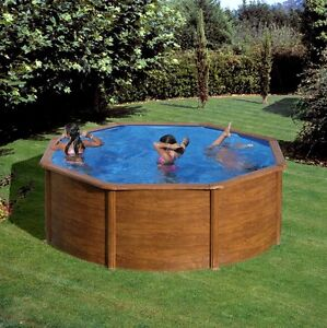 Pool komplett set stahlwand schwimmbecken holzdekor 3 50 x for Schwimmbecken stahlwand