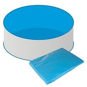 Poolfolie pool 360x90 cm innenh lle rund rundbecken for Poolfolie 460 x 90