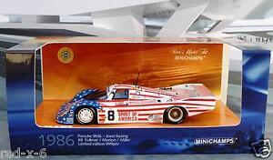 Porsche-956L-8-Joest-Racing-LeMans-1986-1-43-neuwertig