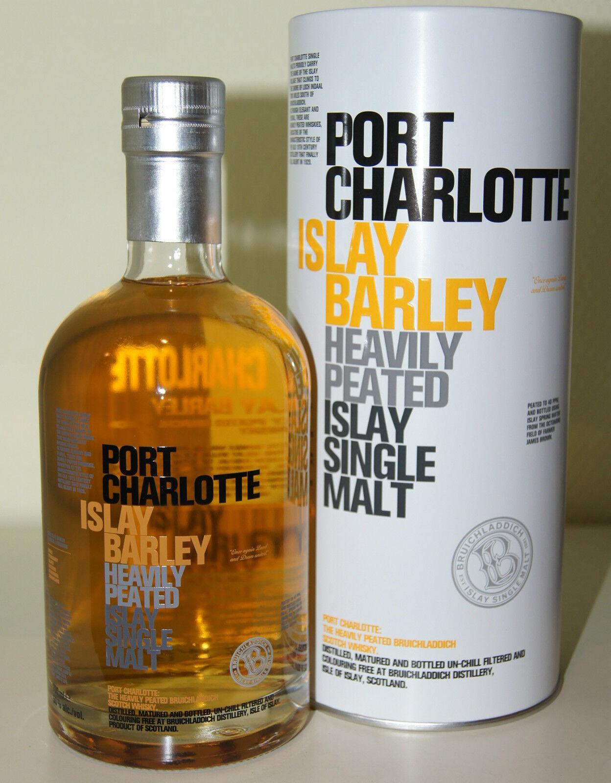 Port charlotte 50 islay barley heavily peated 40 ppm - Bruichladdich port charlotte heavily peated ...