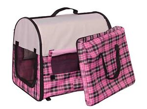 Portable Dog Pet Kennel/House Carrier Soft Crate Cage in Pet Supplies, Dog Supplies, Cages & Crates | eBay
