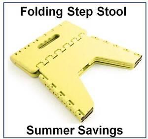 Portable Folding Step Stool Small Caravan Step Fold Away