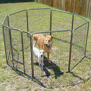 "Portable Heavy Duty Pet Playpen Dog Exercise Pen Cat Fence 8 panel 32 "" Inch in Pet Supplies, Dog Supplies, Fences & Exercise Pens 