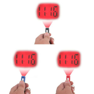 laser projection clock