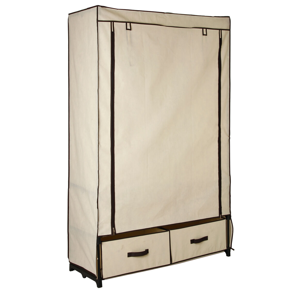 Portable wardrobe closet for Covered clothes rack ikea