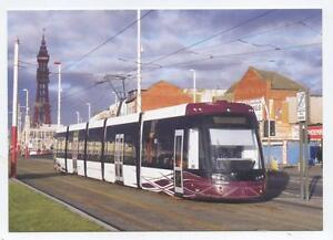 Postcard-New-FLEXITY-2-001-Tram-Driver-Training-at-Foxhall-Blackpool-Lancs