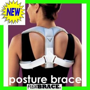 Posture Clavicle Support Corrective Back Brace One Size in Health & Beauty, Medical, Mobility & Disability, Braces & Supports | eBay