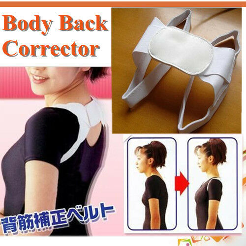 Posture Corrector Beauty Body Back Support Shoulder Brace Band Belt beu in Health & Beauty, Medical, Mobility & Disability, Braces & Supports | eBay