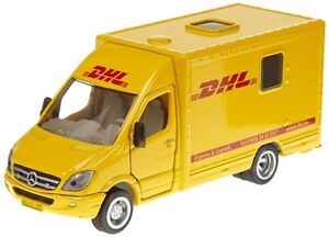 postwagen spielzeug siku dhl kinder post postauto sprinter. Black Bedroom Furniture Sets. Home Design Ideas