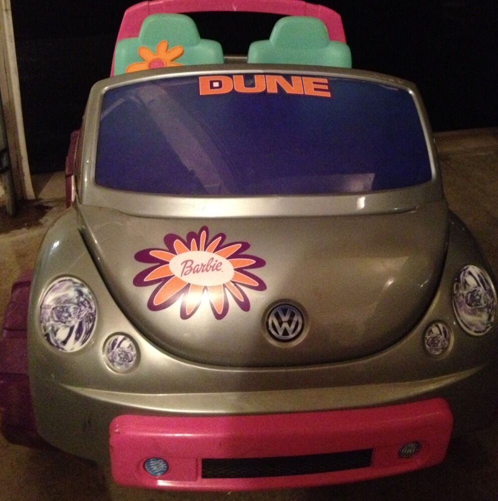 Barbie Battery Operated Car
