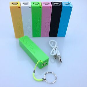 powerbank akku 2600mah usb ladeger t universal smartphone power bank power bank ebay. Black Bedroom Furniture Sets. Home Design Ideas