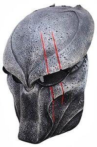 Predator-Paintball-Wolf-BIO-Airsoft-Scar-Maske-Cosplay-Schutzmaske-Vollgesicht
