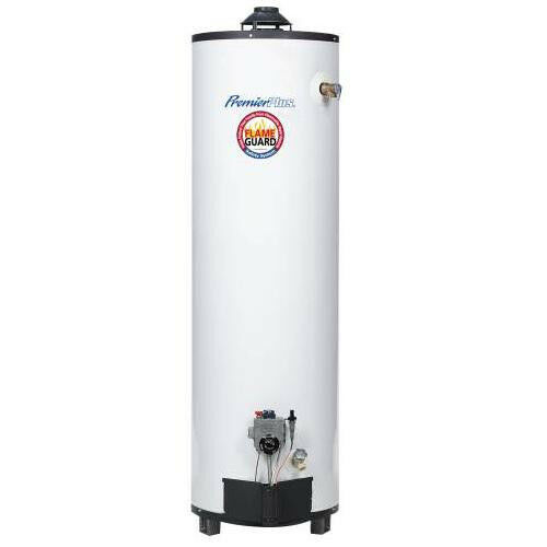 premier plus 40 gallon natural gas home residential hot water heater tall tank ebay. Black Bedroom Furniture Sets. Home Design Ideas