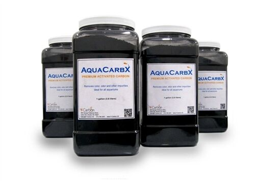 Premium activated carbon for aquarium filters-1Gal-3.5lbs Free Priority Shipping in Pet Supplies, Aquarium & Fish, Aquariums | eBay