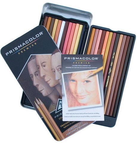 Prismacolor Premier Color Pencil Assorted Tin Set/132 NEW in Crafts