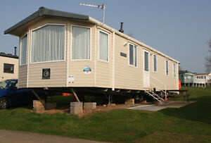 Private Caravan on Haven Devon Cliffs book now for the 2014 season