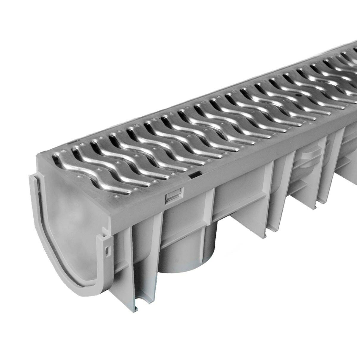 Source 1 Drainage Trench Driveway Channel Drain With Steel