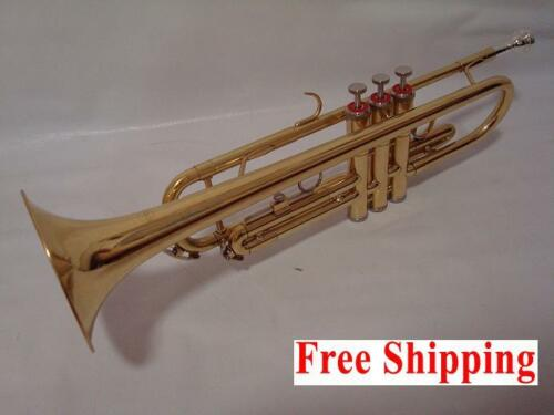 Professional Bb Gold Trumpet School Approved Brand New in Musical Instruments & Gear, Brass, Trumpet & Cornet | eBay
