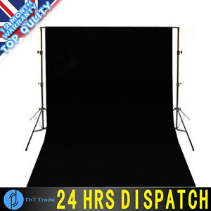 Professional-studio-Background-Black-1-8M-X-2-8M-Cotton-Muslin-Backdrop-Clothe