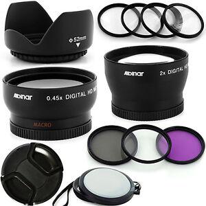 Professionell-Objektiv-Set-Fuer-Nikon-AF-Nikkor-50mm-F-1-4D-DSLR-Kamera-52mm