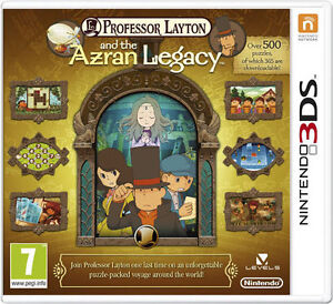 Professor Layton and The Azran Legacy fo...