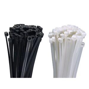 Profi-Kabelbinder-UV-stabil-weiss-schwarz-gruen-kurz-lang-200-300-400-500-loesbar