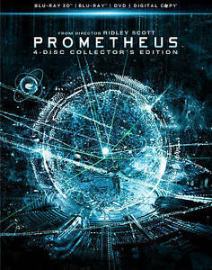 Prometheus (Blu-ray/DVD, 2012, 4-Disc Set, Collector's Edition; 3D; in DVDs & Movies, DVDs & Blu-ray Discs | eBay