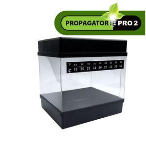 propagator pro anzuchtbox komplett mit led perlite zimmergew chshaus indoor grow ebay. Black Bedroom Furniture Sets. Home Design Ideas