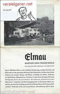 Prospekt Fremdenverkehr Elmau Gasthof und Fremdenheim Oberbayern um 1940 - Tübingen, Deutschland - Widerrufsrecht Sie haben das Recht, binnen eines Monats ohne Angabe von Gründen diesen Vertrag zu widerrufen. Die Widerrufsfrist beträgt einen Monat ab dem Tag an dem Sie oder ein von Ihnen benannter Dritter, der nicht der Befö - Tübingen, Deutschland