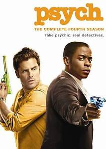 Psych: Season 4 (DVD, 2010, 4-Disc Set)