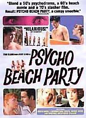 Psycho Beach Party (DVD, 2001)