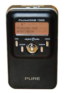 Pure PocketDAB 1500 RDS, DAB, AM/FM Radi...