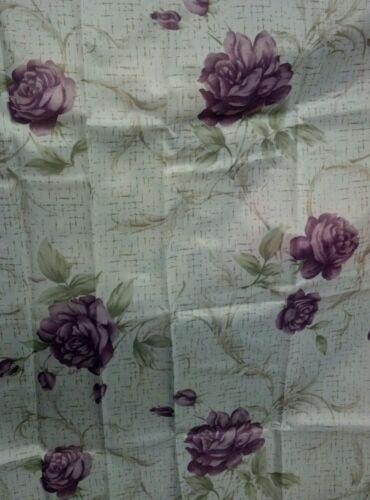 Purple Flowers Shower Curtain w/ Plastic linen and hooks in Home & Garden, Bath, Shower Curtains | eBay