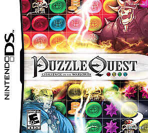 Puzzle Quest Challenge of the Warlords Nintendo DS, 2007