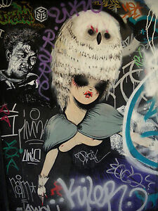QUALITY-MISS-VAN-GRAFFITI-ART-PHOTO-PRINT-A4-SIZE
