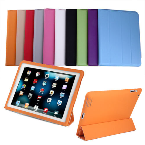 Quad-Folding Slim Smart Case for iPad-2 / 3 & 4 Cover & Stand - Pick a Color in Computers/Tablets & Networking, Other | eBay