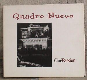 Quadro Nuevo*CinePassion*Digipak CD - Deutschland - Quadro Nuevo*CinePassion*Digipak CD - Deutschland