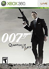 Quantum of Solace  (Xbox 360, 2008)