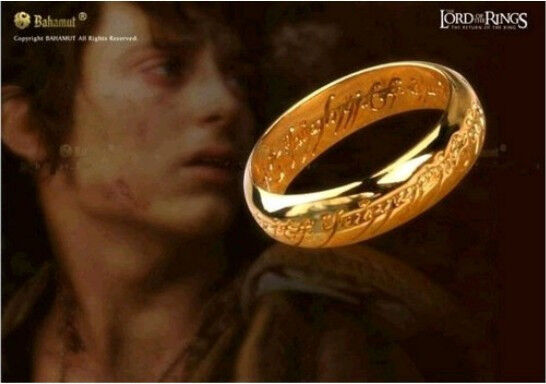 delicate the lord of the ring celtic gold plated